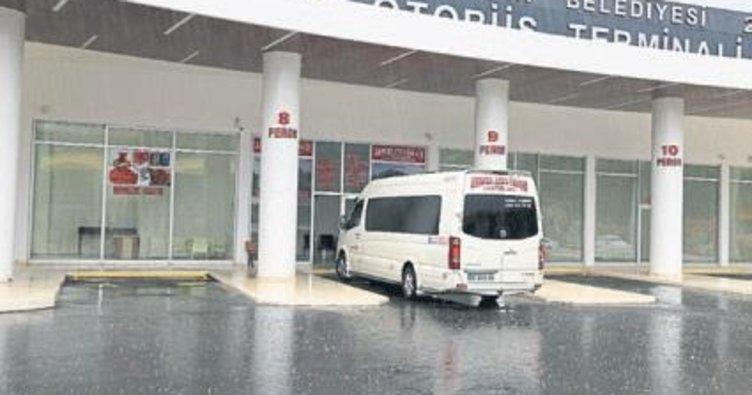 Akseki Otobüs Terminali açıldı