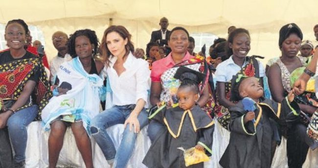 Beckham Kenya'da