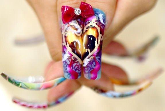 Çılgın bir sanat: Tırnak Sanatı