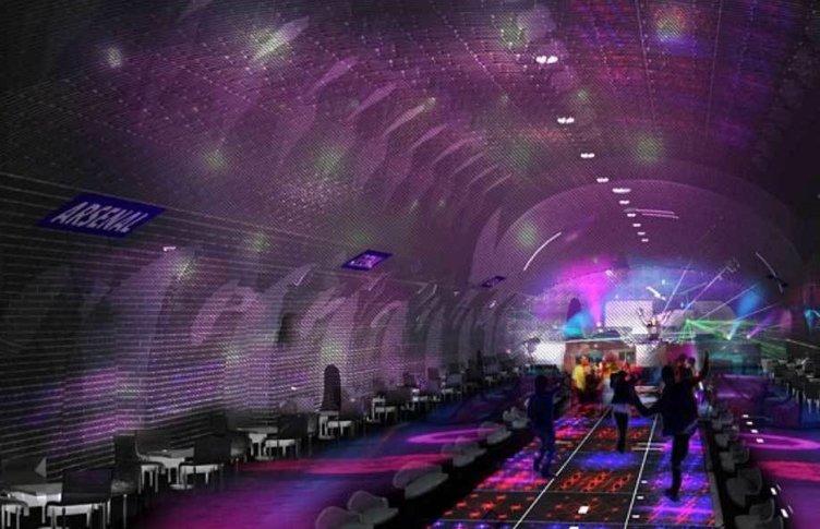 Eğlencenin yeni merkezi metro istasyonları