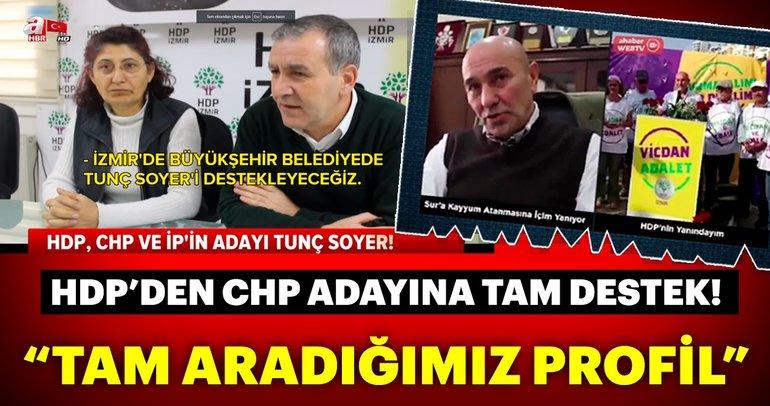 Tunç Soyer'e HDP desteği
