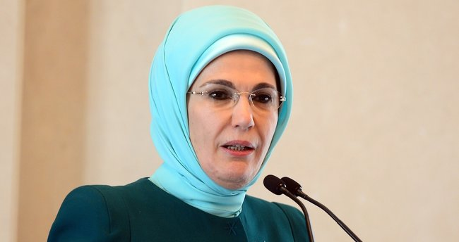 Emine Erdoğan: Yerkürenin topyekün bir dirilişe ihtiyacı var