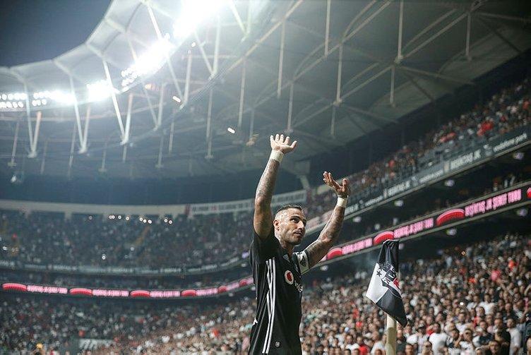 Quaresma futbolu bıraktıktan sonra da Beşiktaş'ta