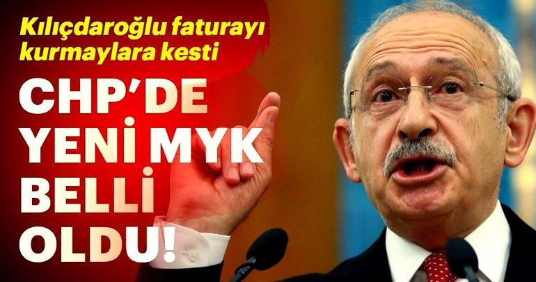 Son Dakika: CHP'de yeni MYK açıklandı