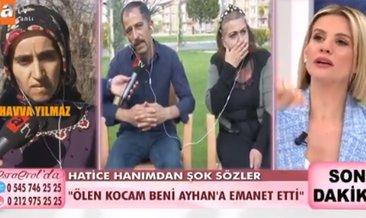 Esra Erol'da inanılmaz olay: Ölen kocam beni Ayhan'a emanet etti