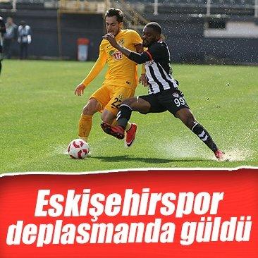 Eskişehirspor, Manisa deplasmanında güldü