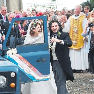 'Jon Snow'un romantik düğünü