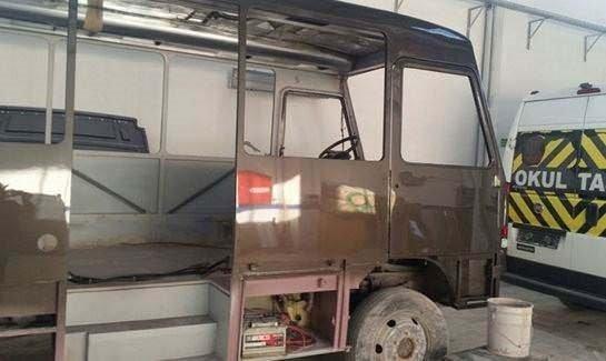 Efsane Magirus minibüs bakın nasıl değişti!