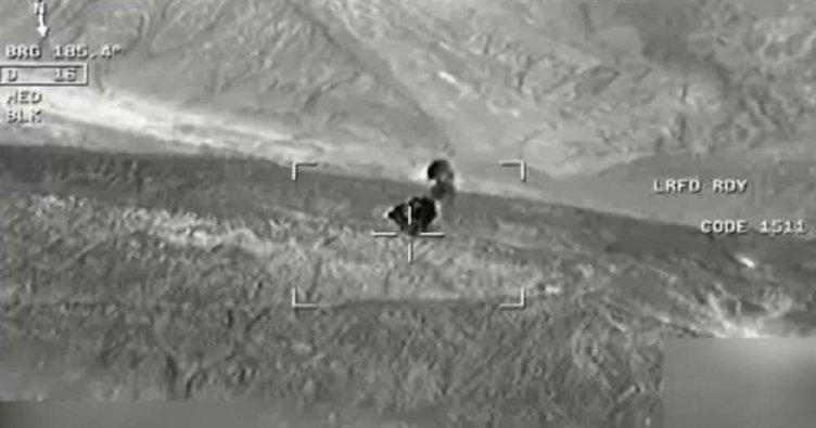 Son dakika haberi: Köylü kılığına girdi ama SİHA'lardan kaçamadı