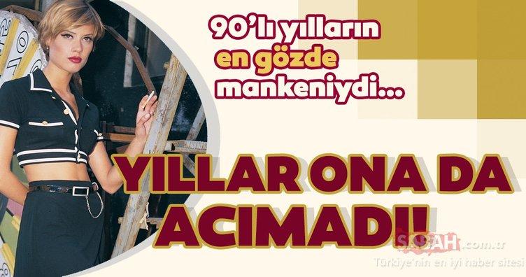 Yıllar Begüm Özbek'e de acımadı! 90'lı yılların en gözde mankeniydi…