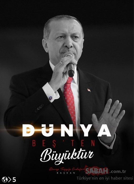 Başkan Erdoğan'ın sözleri dünyanın gündeminde
