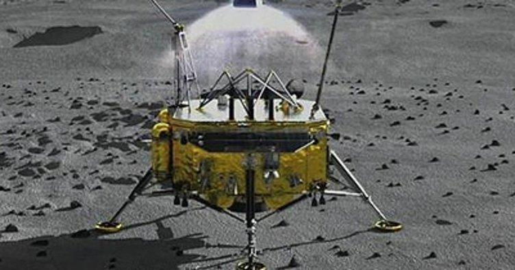 Çin'in insansız uzay aracı Ay'a iniş yaptı