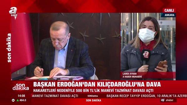Son dakika: Başkan Erdoğan'dan Kılıçdaroğlu'na tazminat davası | Video