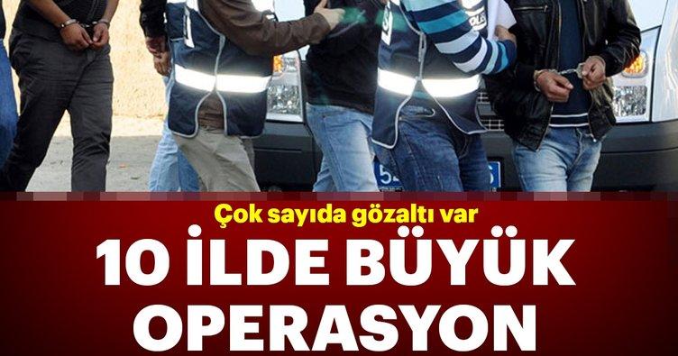 Son dakika: Adana merkezli FETÖ operasyonunda 21 kişi hakkında gözaltı kararı