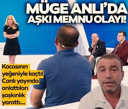 Son dakika: Müge Anlı'da Aşkı Memnu olayı! 12 yıllık kocasının yeğeniyle kaçtı... Canlı yayında her şeyi anlattı