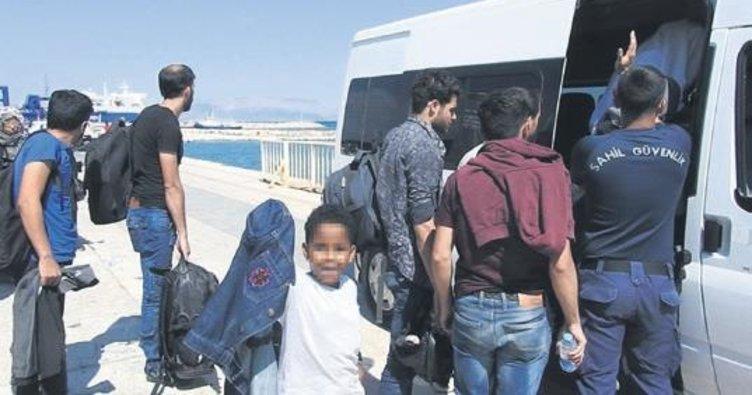 5 ilde 293 düzensiz göçmen yakalandı