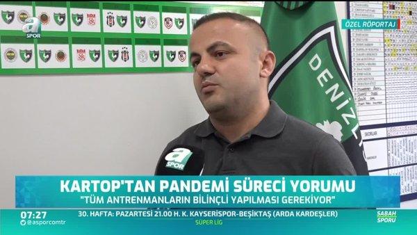 Levent Kartop: Takımı Süper Lig'de tutmak istiyoruz