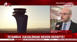 İGA CE'su Kadir Samsunlu, A Haber'e İstanbul Havalimanı'nın hedeflerini anlattı