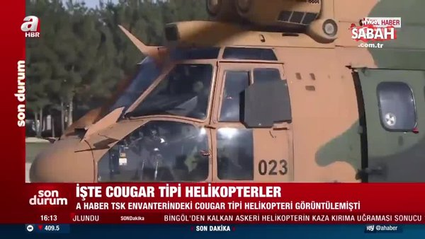 İşte Türkiye'yi yasa boğan kaza sonrası gözlerin çevrildiği Cougar tipi helikopterler | Video
