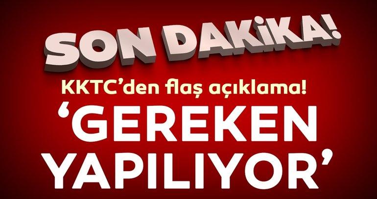 KKTC'den Doğu Akdeniz'deki gerginlik hakkında flaş açıklama!