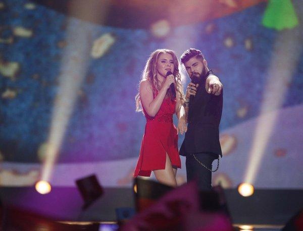 Eurovision 2017'den renkli kareler