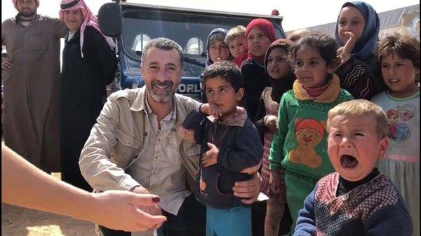 Afrin'e giden ünlü radyocu 'Afrikalı Ali' izlenimlerini GÜNAYDIN için yazdı