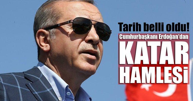 Son dakika... Cumhurbaşkanı Erdoğan, Körfez turuna çıkıyor