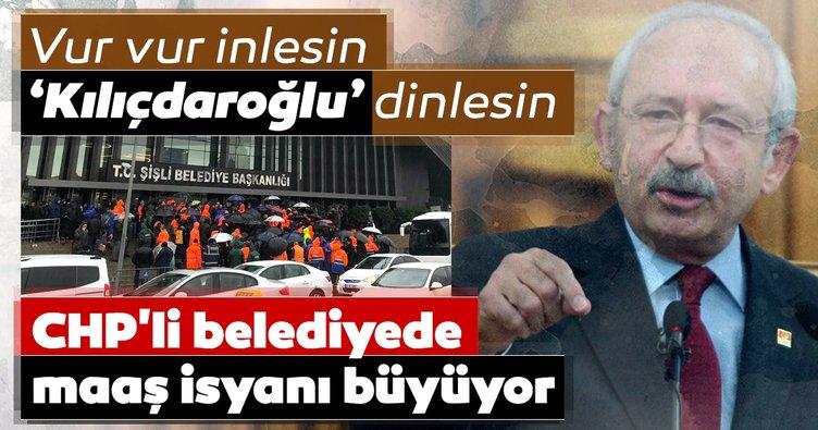 CHP'li belediyede maaş isyanı büyüyor