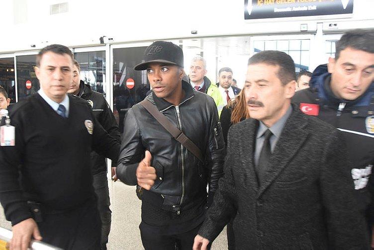 Robinho came to Sivas