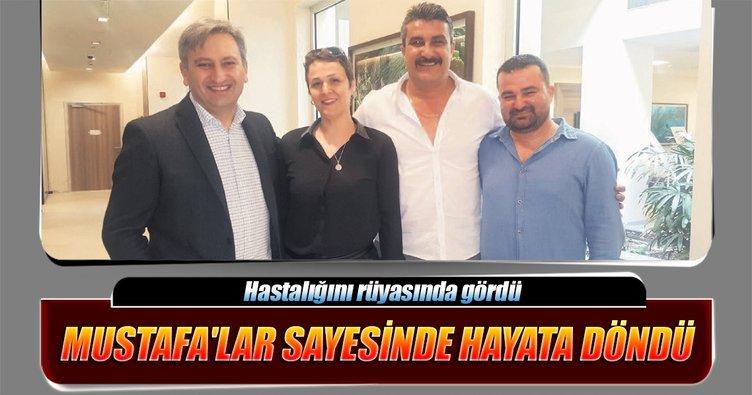 'Üç Mustafa'sıyla kanseri yendi