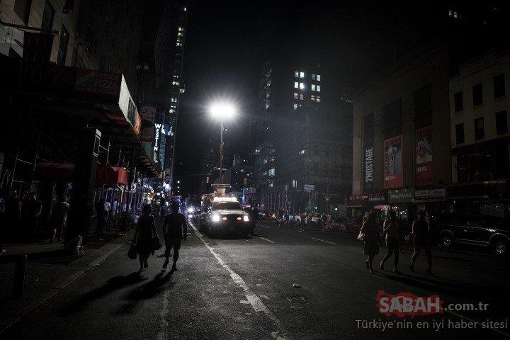 New York karanlığa gömüldü! Hayat felç oldu