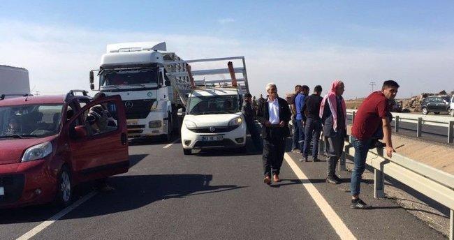 Viranşehir-Mardin Karayolunda bomba paniği