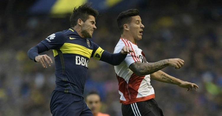 Superclasiconun galibi River Plate