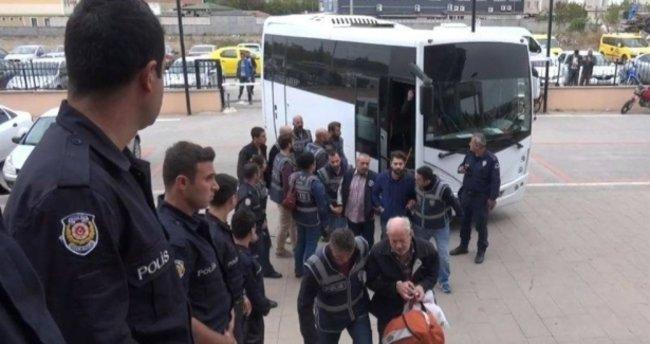 Edirne'de FETÖ zanlısı 14 iş adamı tutuklandı