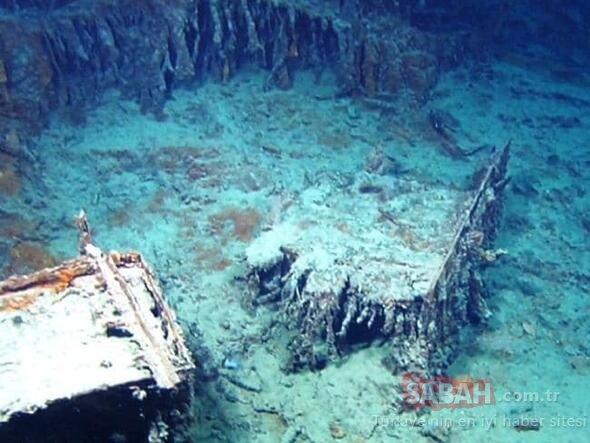 Dalgıçlar gördüklerine inanamadı! Okyanusun dibinden esrarengiz görüntüler...