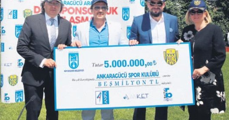 Ankaragücü'ne güçlü sponsor