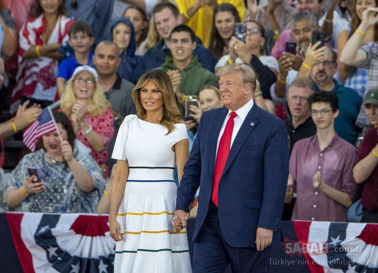 ABD'de Bağımsızlık Günü kutlamalarına Trump damgası