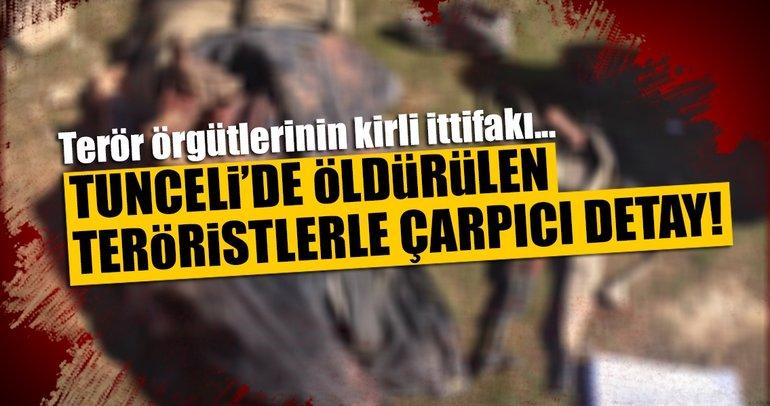 Son dakika: Tunceli'de öldürülen teröristlerle ilgili çarpıcı detay!