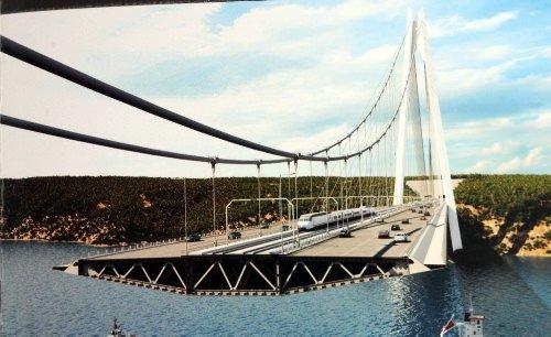 Yavuz Sultan Selim Köprüsü böyle olacak