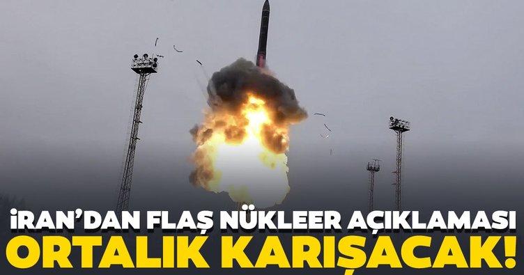 Son dakika haberi: İran Cumhurbaşkanı Ruhani'den Nükleer açıklaması