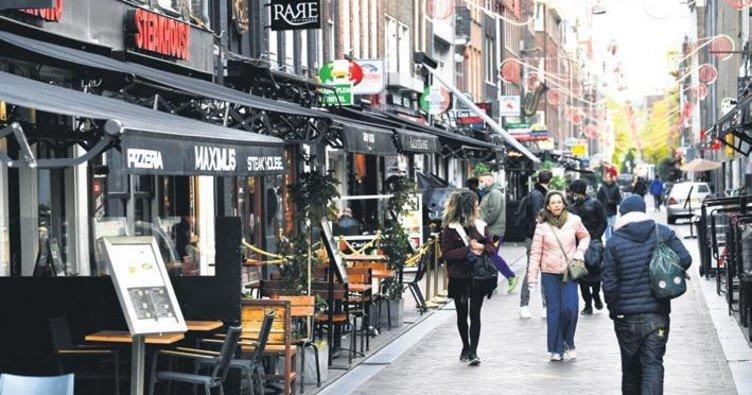 Hollanda'da önlem yeniden artırıldı