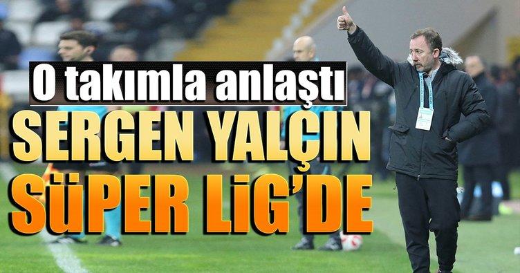 Konyaspor Sergen Yalçın ile anlaştı