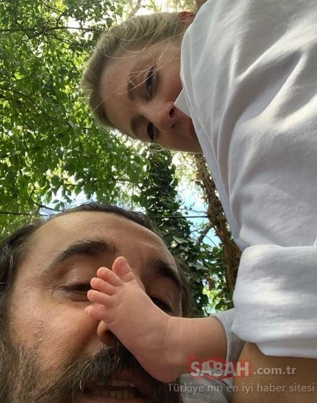 Çukur'un Cumali'si Necip Memili kızı Asya'nın yüzünü gösterdi! Sosyal medya yıkıldı!
