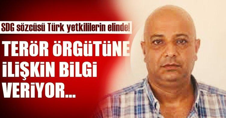 Son Dakika Haberi: Terör örgütü SDG sözcüsü Türkiye'ye getirildi!