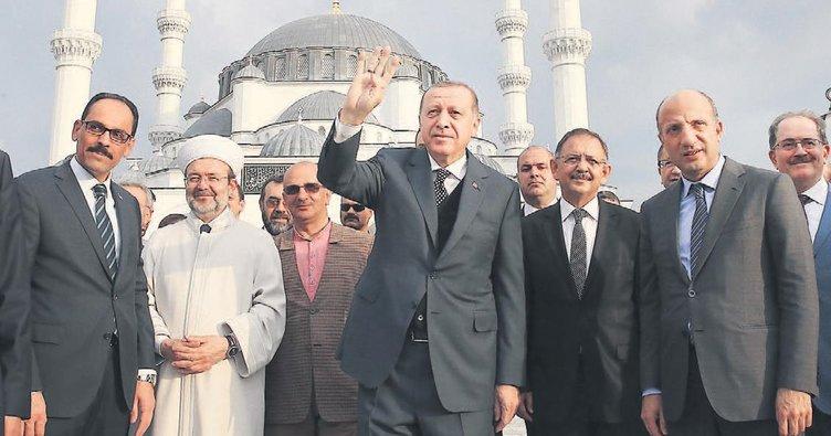 Osmanlı Camisi açılıyor
