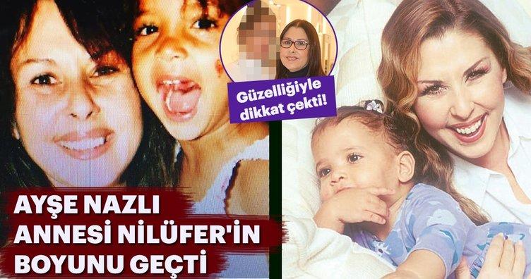 Ayşe Nazlı annesi Nilüfer'in boyunu geçti! Son halini görenler şaşırdı!