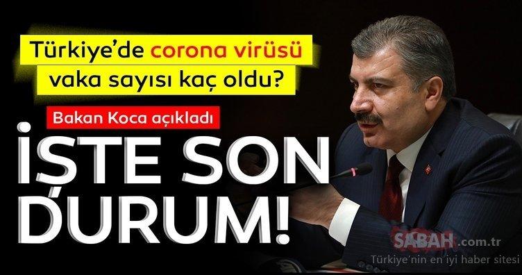 SON DAKİKA: Fahrettin Koca'dan corona virüsü vaka sayısı açıklaması! Türkiye'de İstanbul, Ankara, İzmir ve iller, ilçelere göre corona virüsü yoğunluğu haritası yayınlandı!