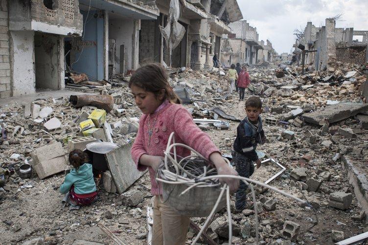 Savaş mağduru çocuklar depresyonla mücadele ediyor