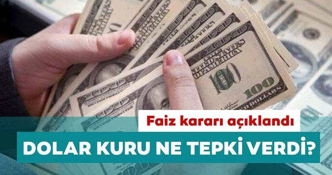 Son dakika: Merkez Bankası faiz kararını açıkladı: Dolar kuru ne tepki verdi?