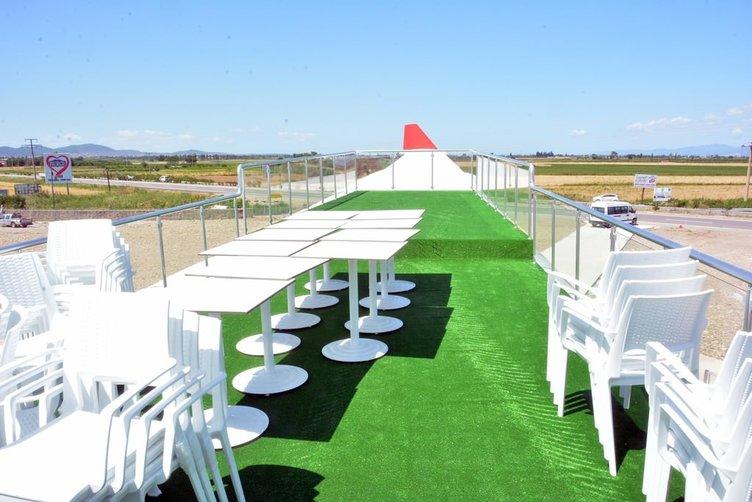 Bu yaz düğünler uçak restoranda yapılacak